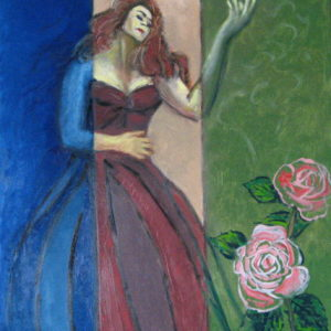 PASSION LYRIQUE ; huile ; 50 x 65cm